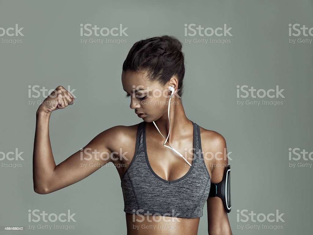 You can't go wrong with strong stock photo