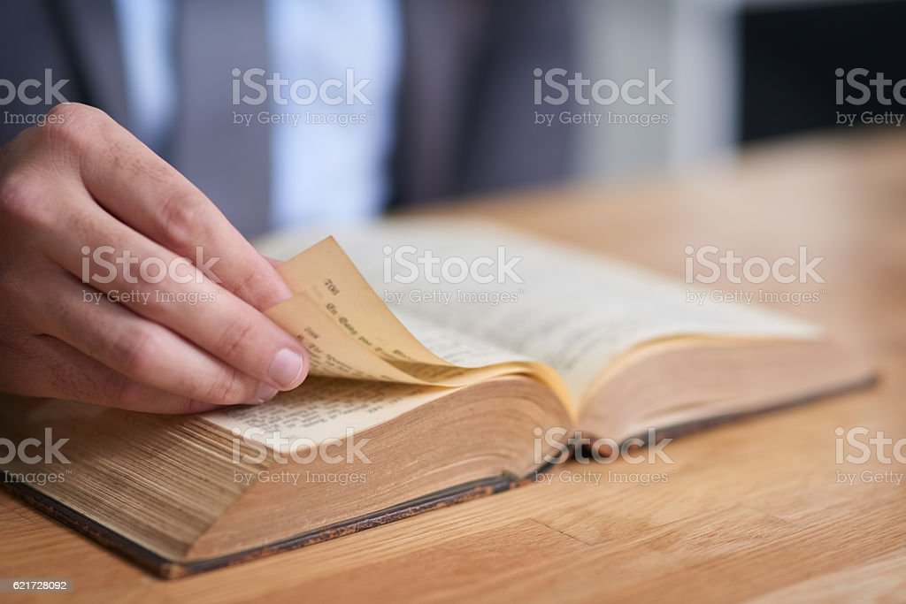 You can't keep a good book down stock photo