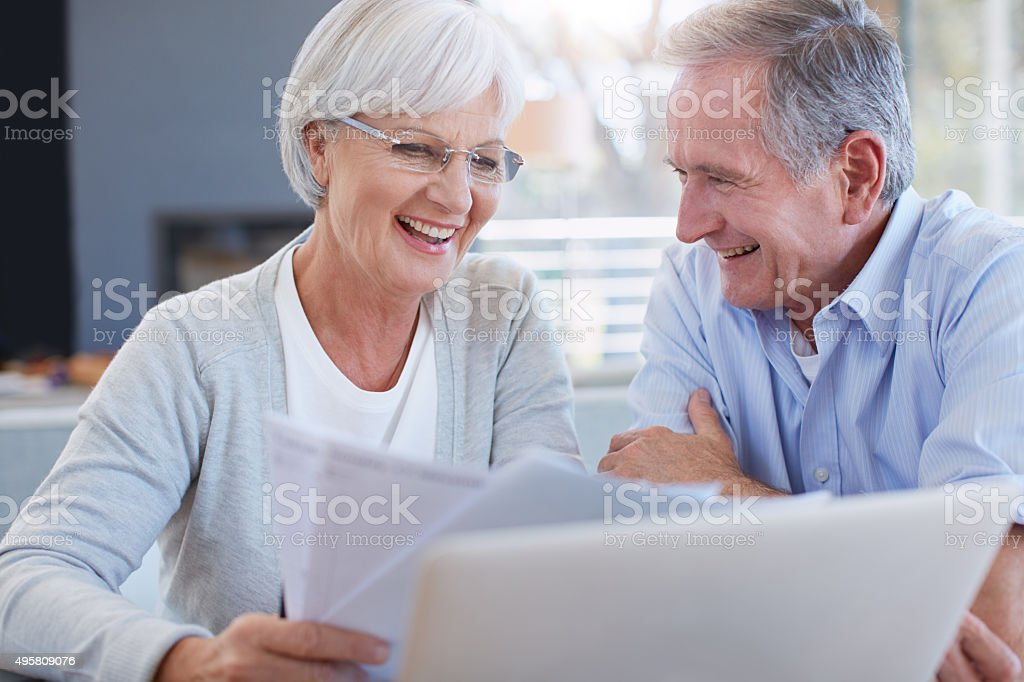 You can't put a price on peace of mind stock photo