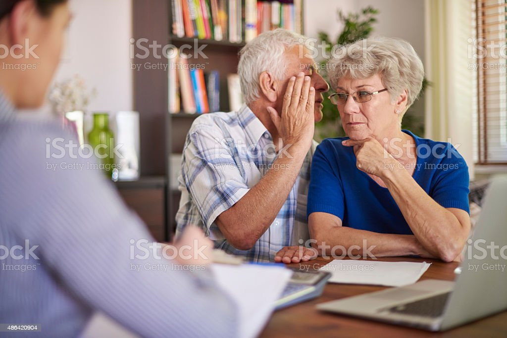 You can't trust everything you are hearing stock photo