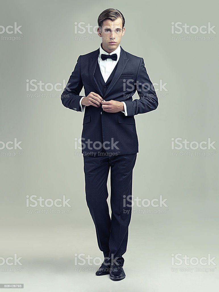 You clean up nice stock photo