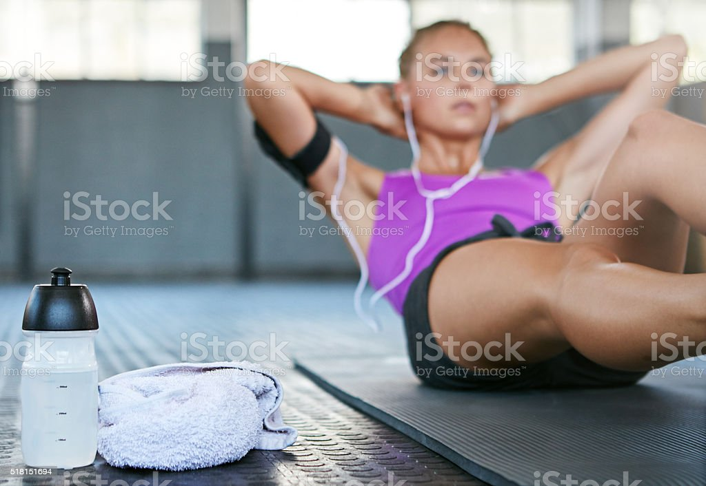 You control what your body looks like stock photo