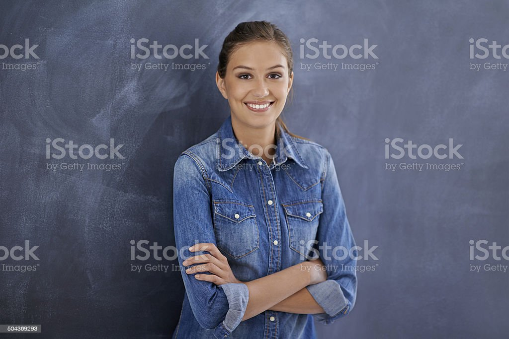 You create you own oppertunities stock photo