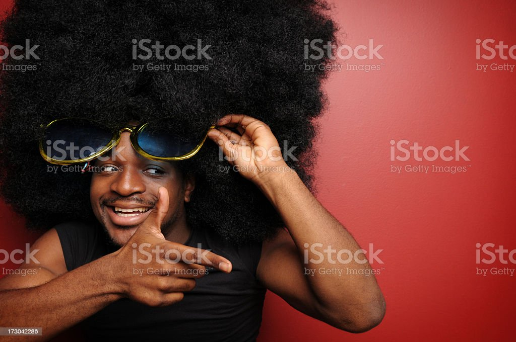 You da man! (XL) royalty-free stock photo