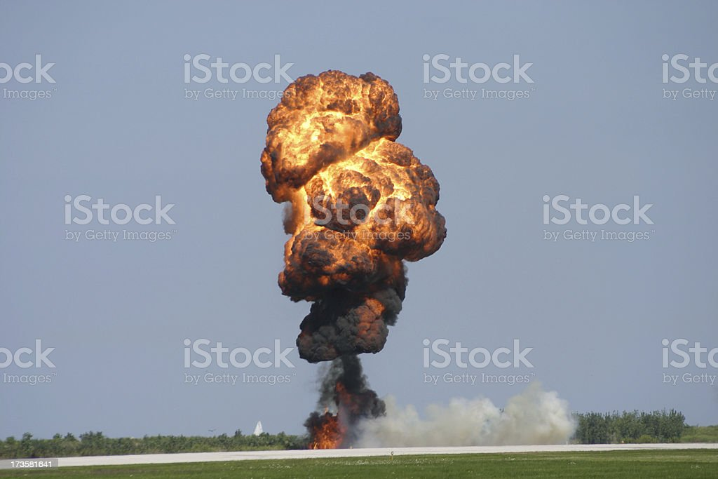you dropped a bomb on me...baby royalty-free stock photo