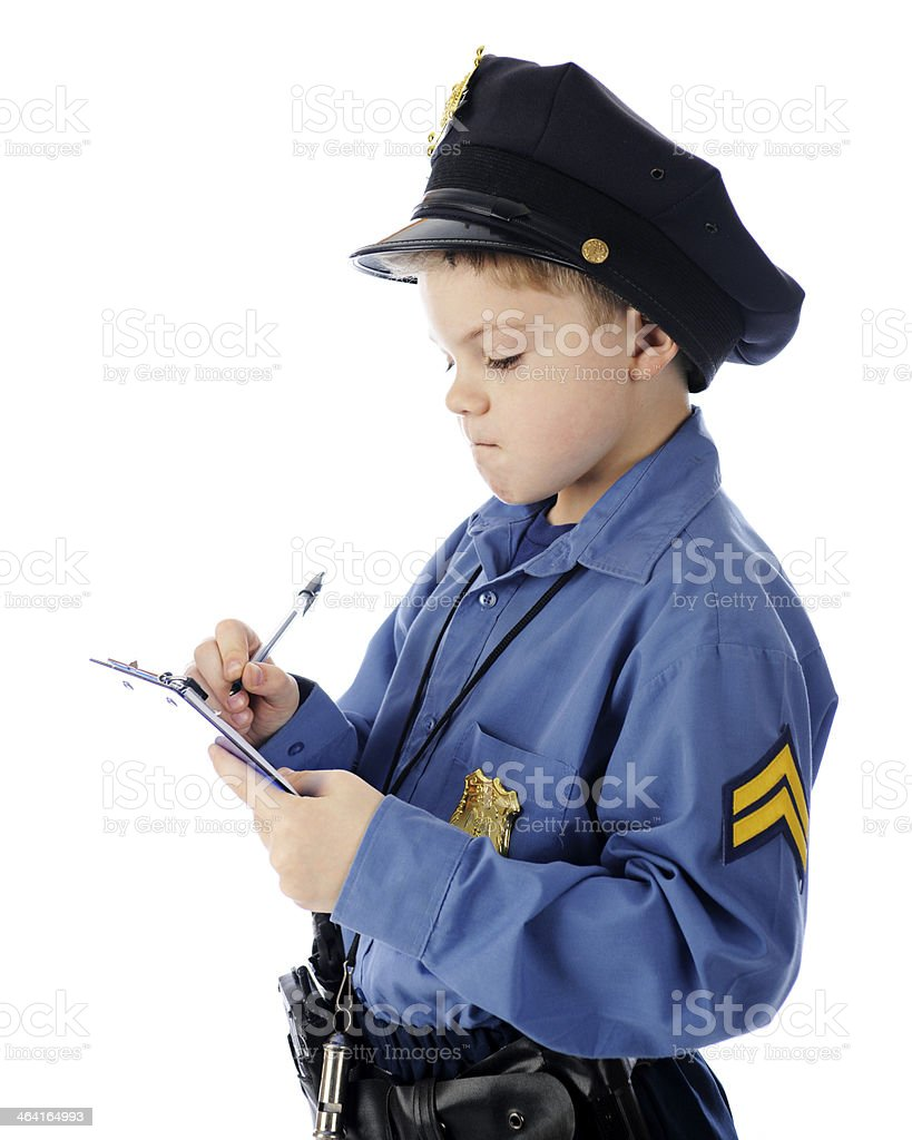 You Get a Ticket for That! stock photo