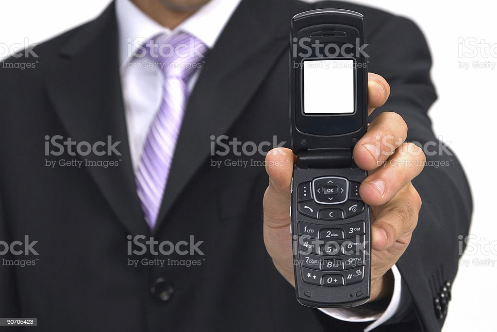 you got a call stock photo