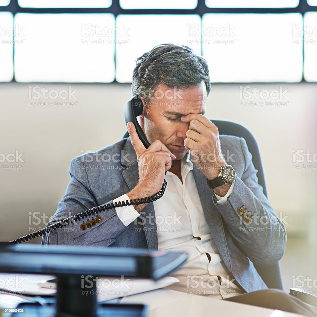 You had one job... stock photo