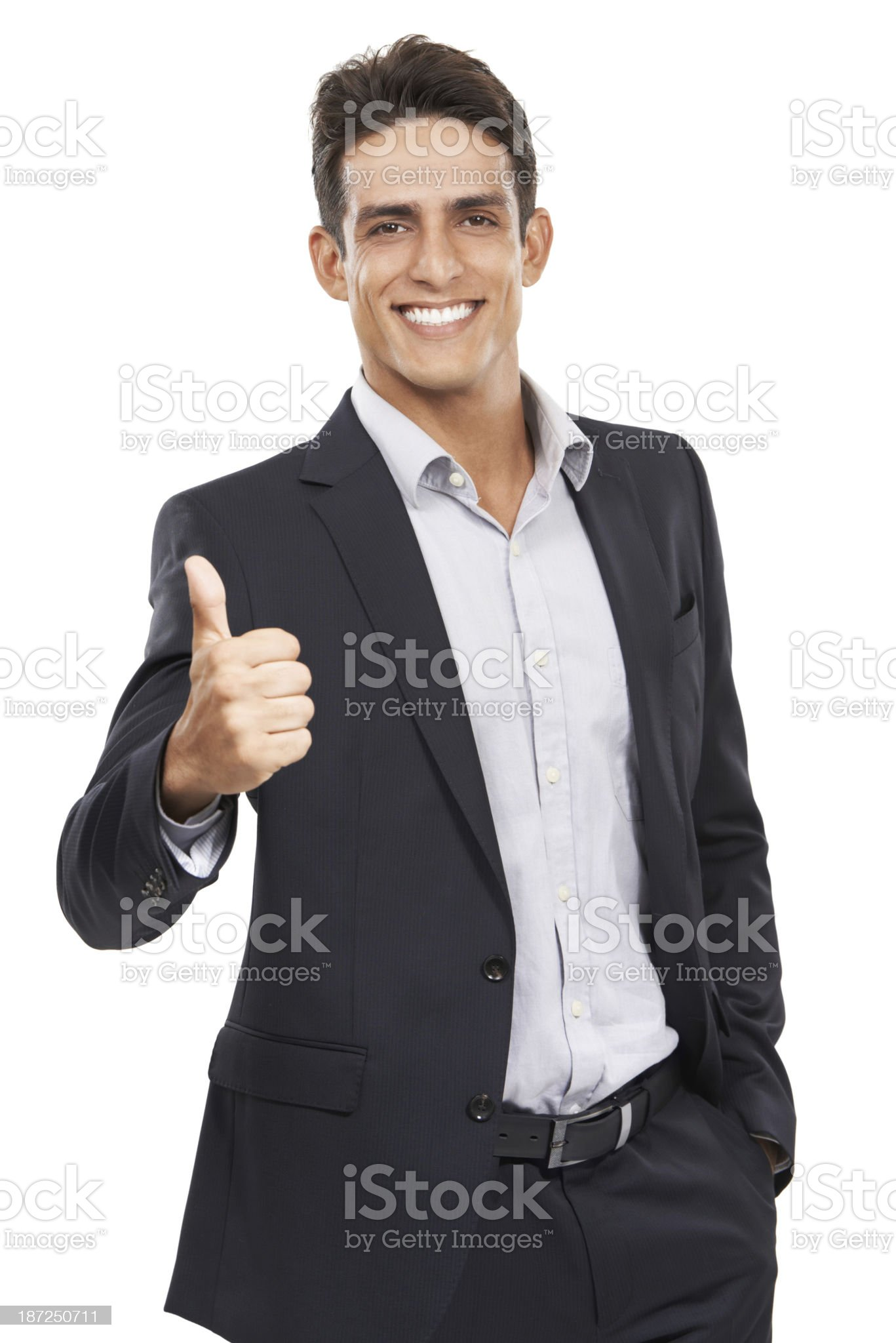 You have my approval royalty-free stock photo