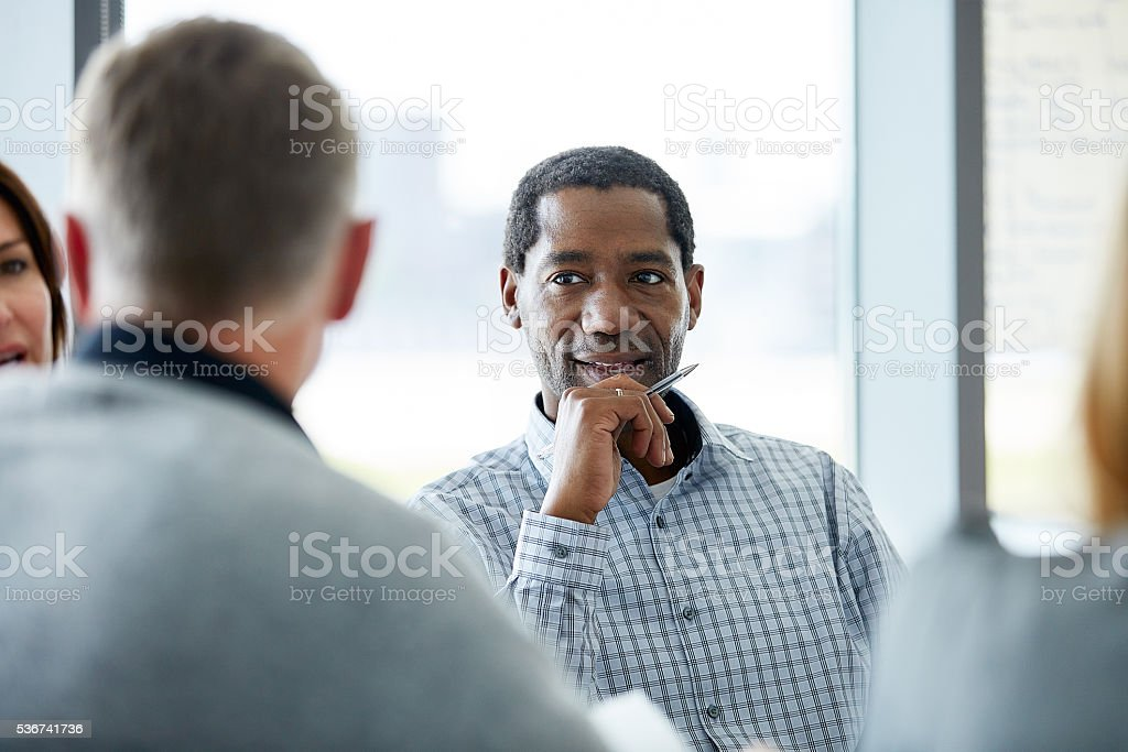 You have my attention stock photo