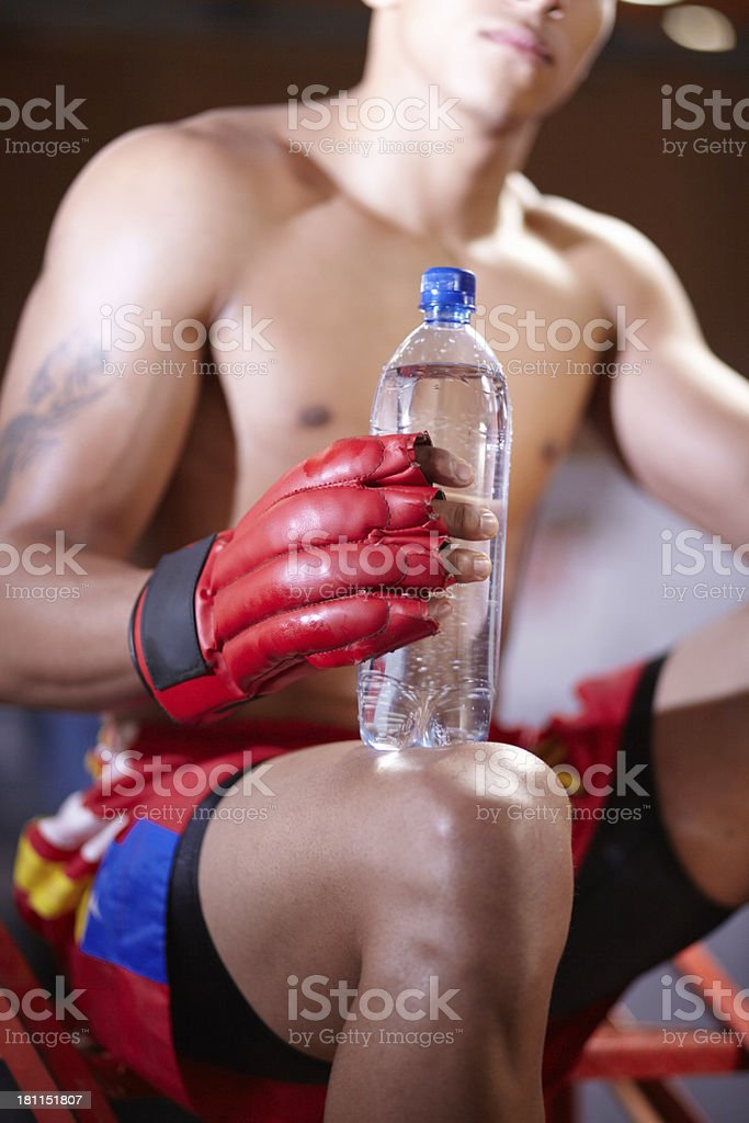 You have to keep your body hydrated at all times royalty-free stock photo