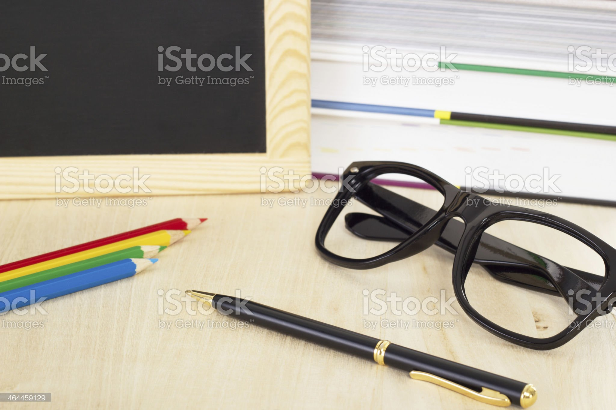 You have to learn good in the school for success! royalty-free stock photo