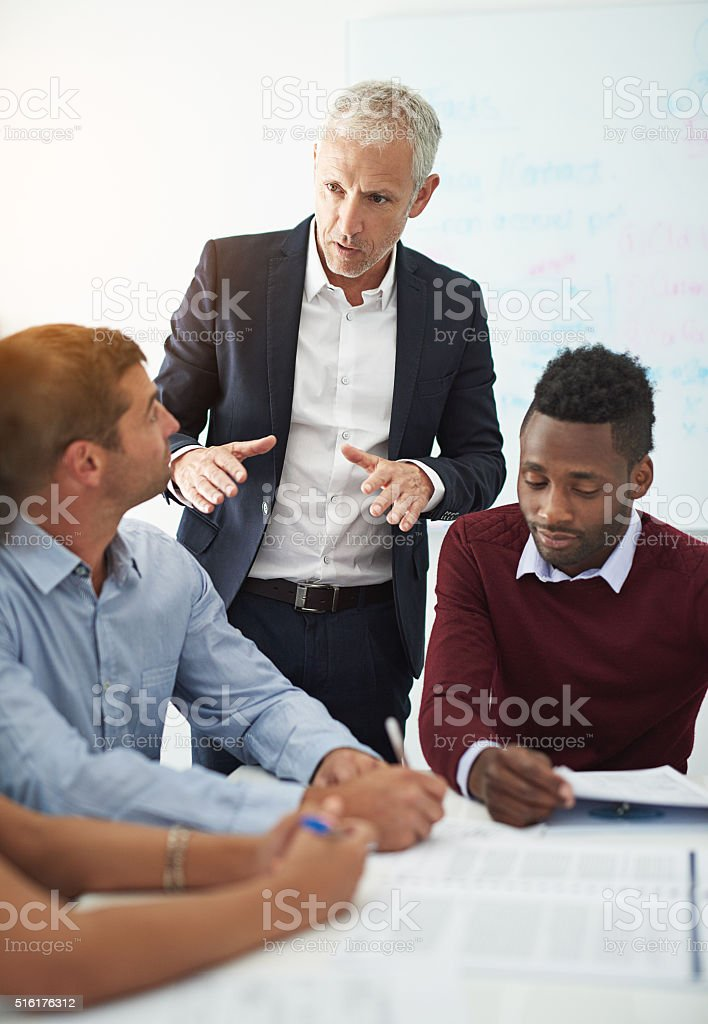 You have to start from the bottom... stock photo