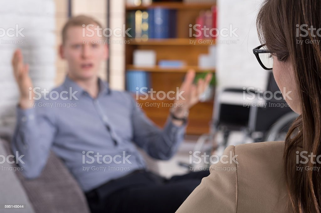 You just don't understand! stock photo