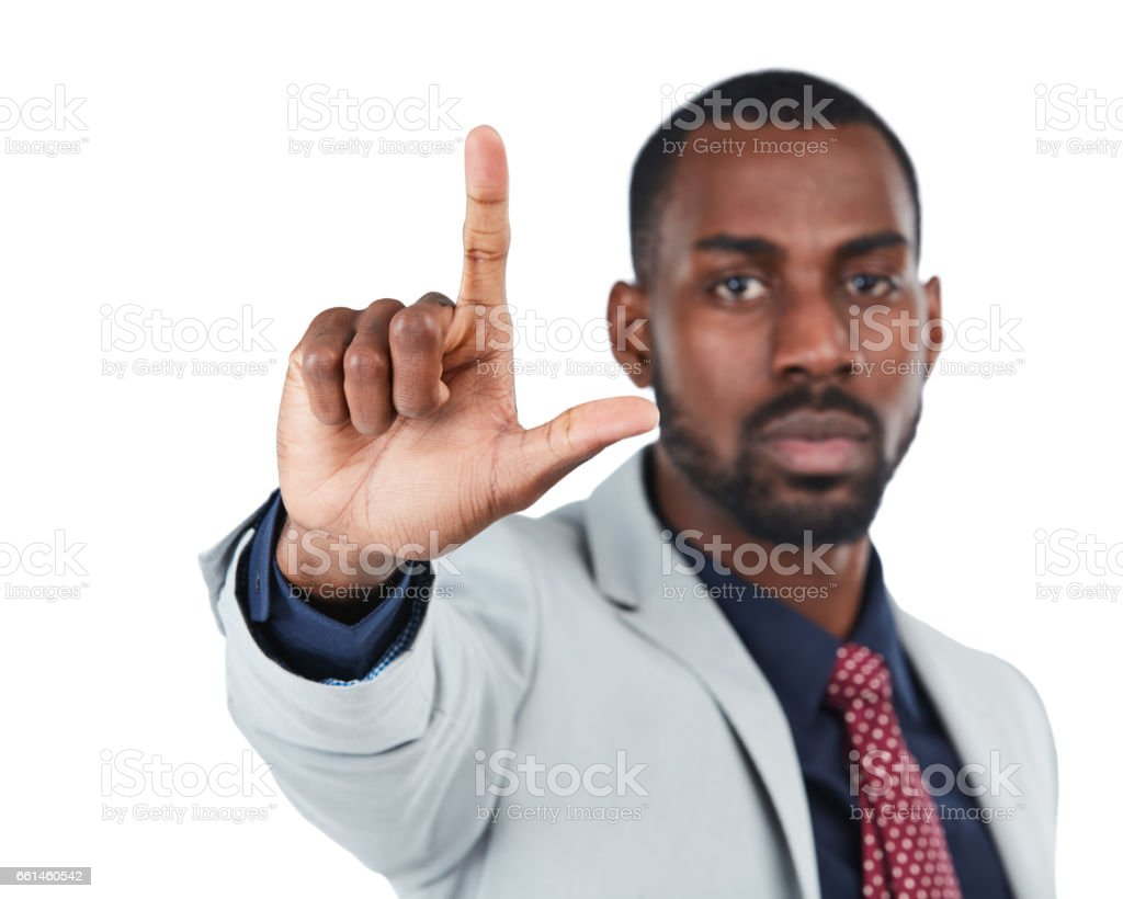 You lose stock photo