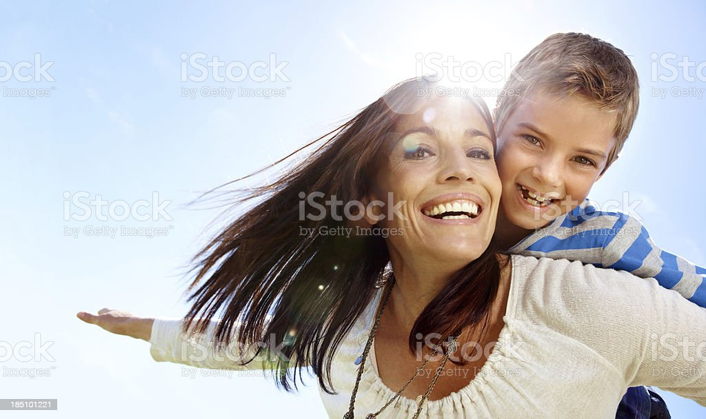 You make me feel like I can fly royalty-free stock photo