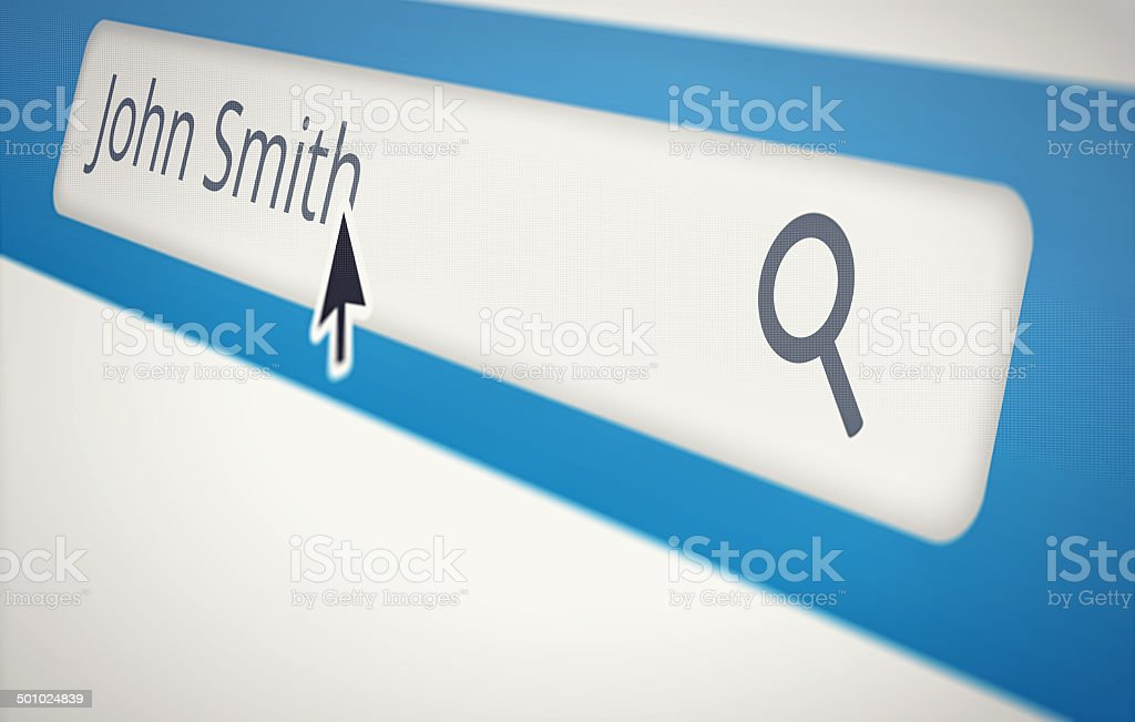 You might want to look for a less common name? royalty-free stock photo