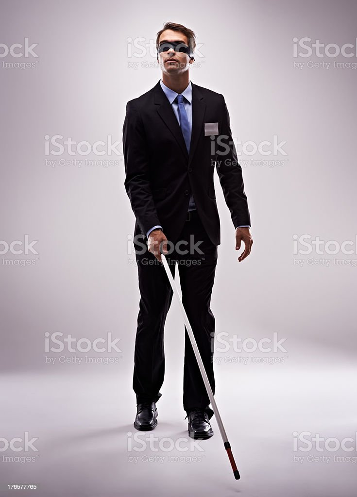 You need a clear vision to navigate the business world stock photo