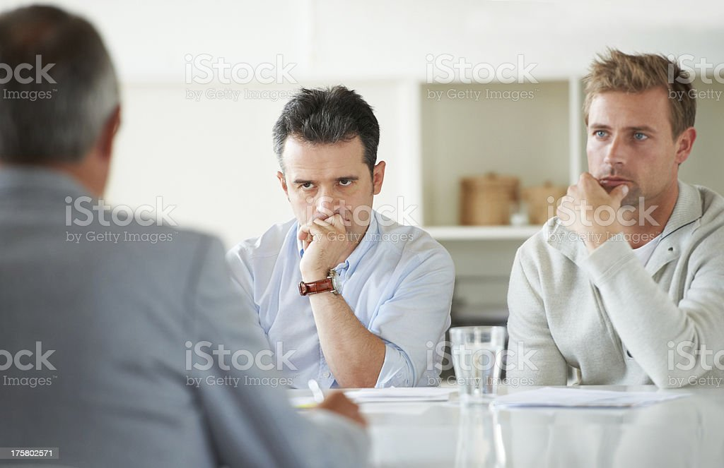 You need to focus more... stock photo