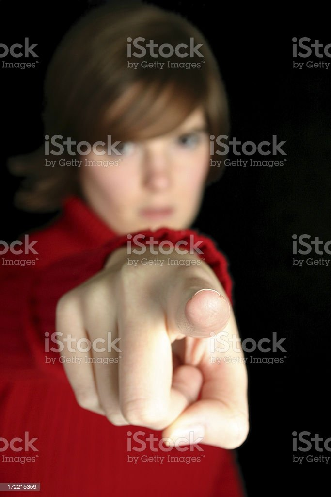 You! royalty-free stock photo