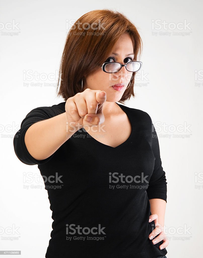 You!!! royalty-free stock photo