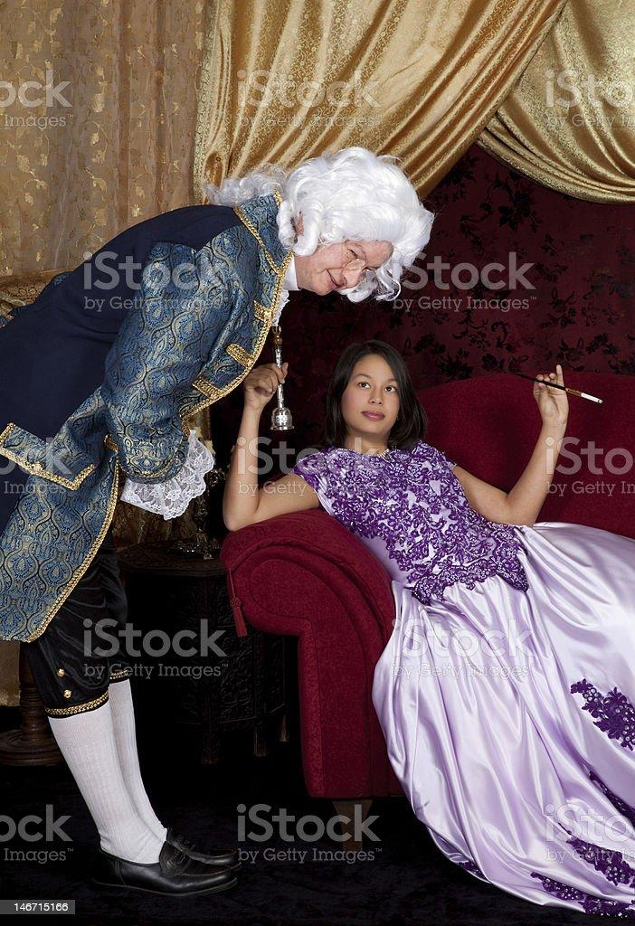 You rang mylady royalty-free stock photo