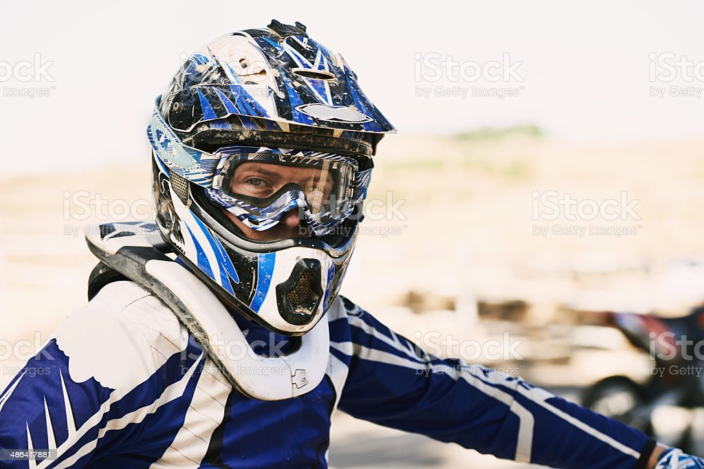 You ready to ride? stock photo