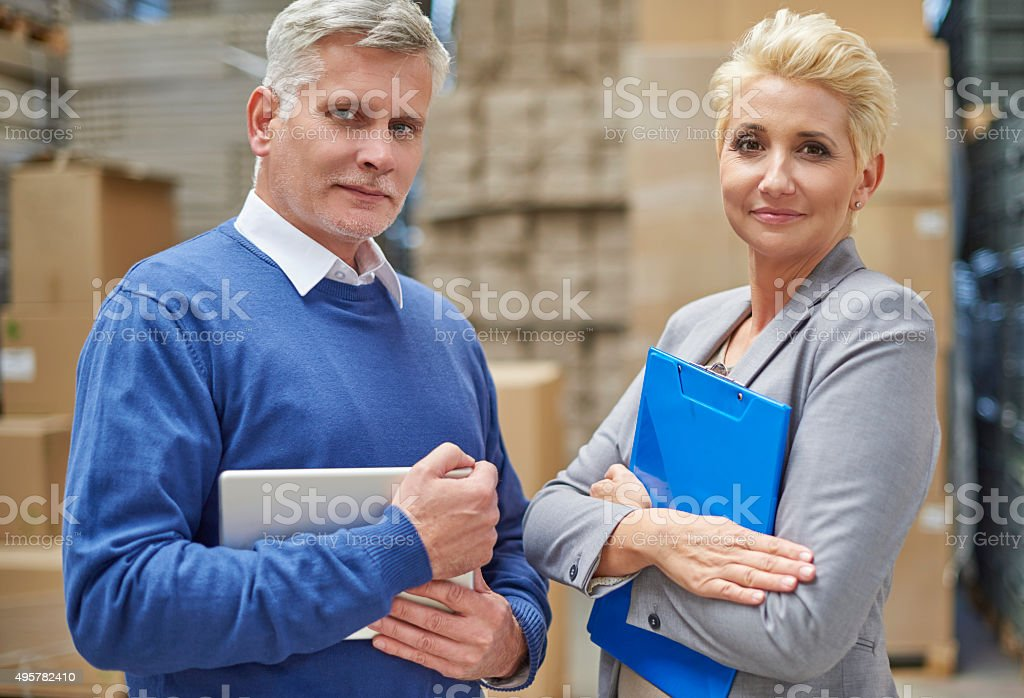 You really can trust us stock photo
