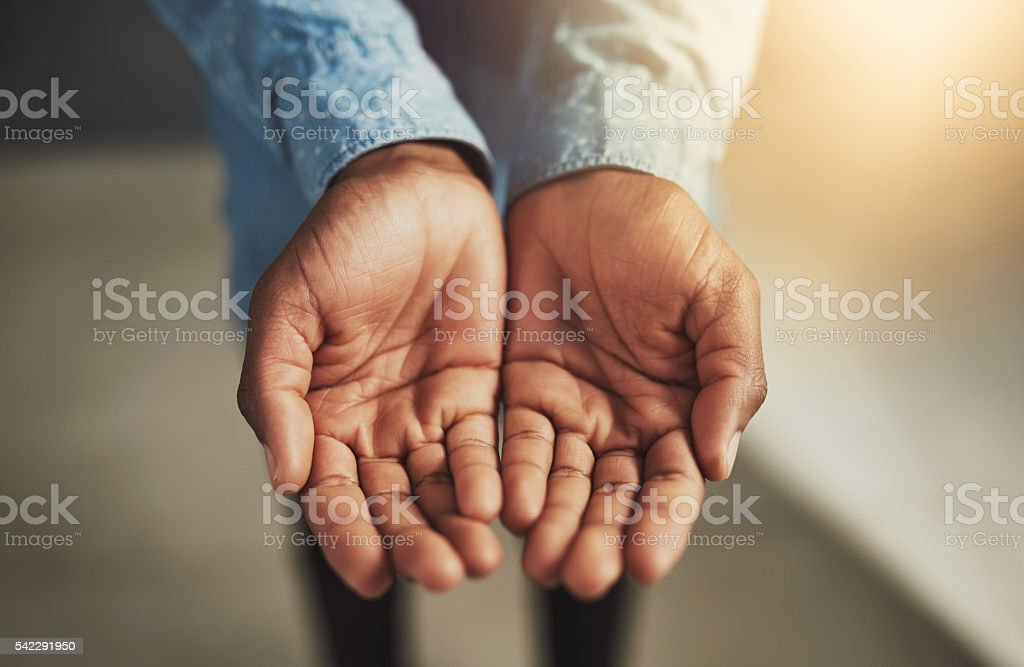 You rise by lifting others stock photo