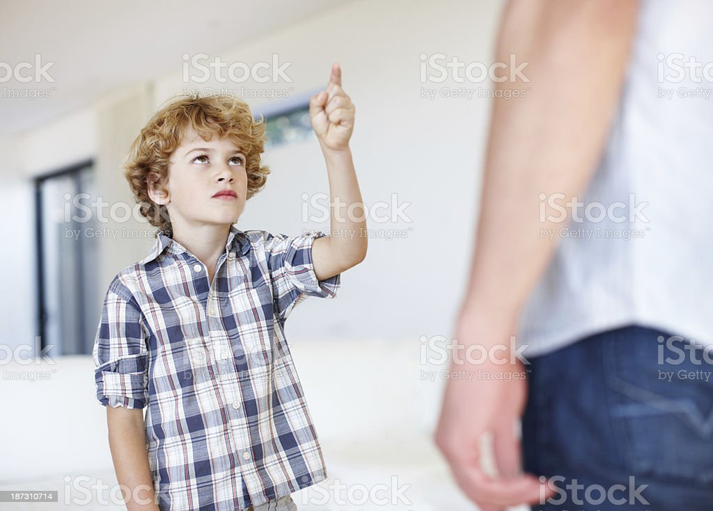 You said you'd be there! stock photo