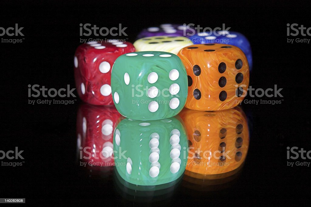dices II royalty-free stock photo