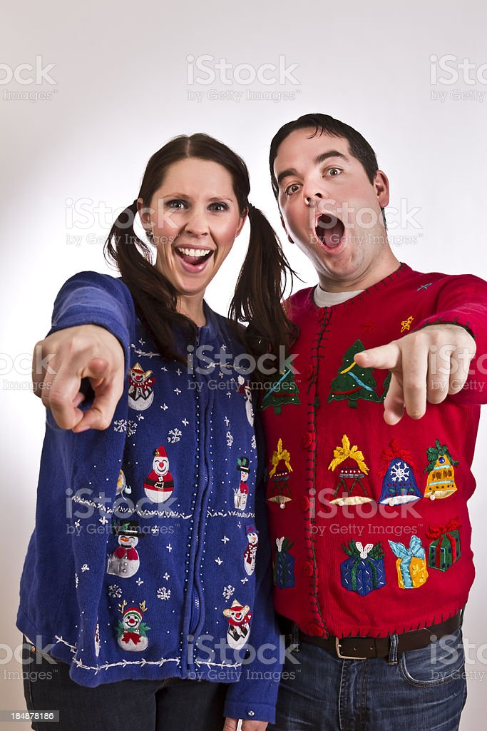 You should wear a sweater royalty-free stock photo