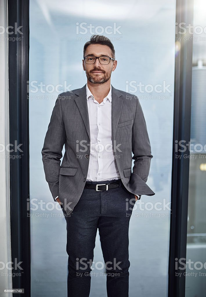 You succeed if you believe you will stock photo