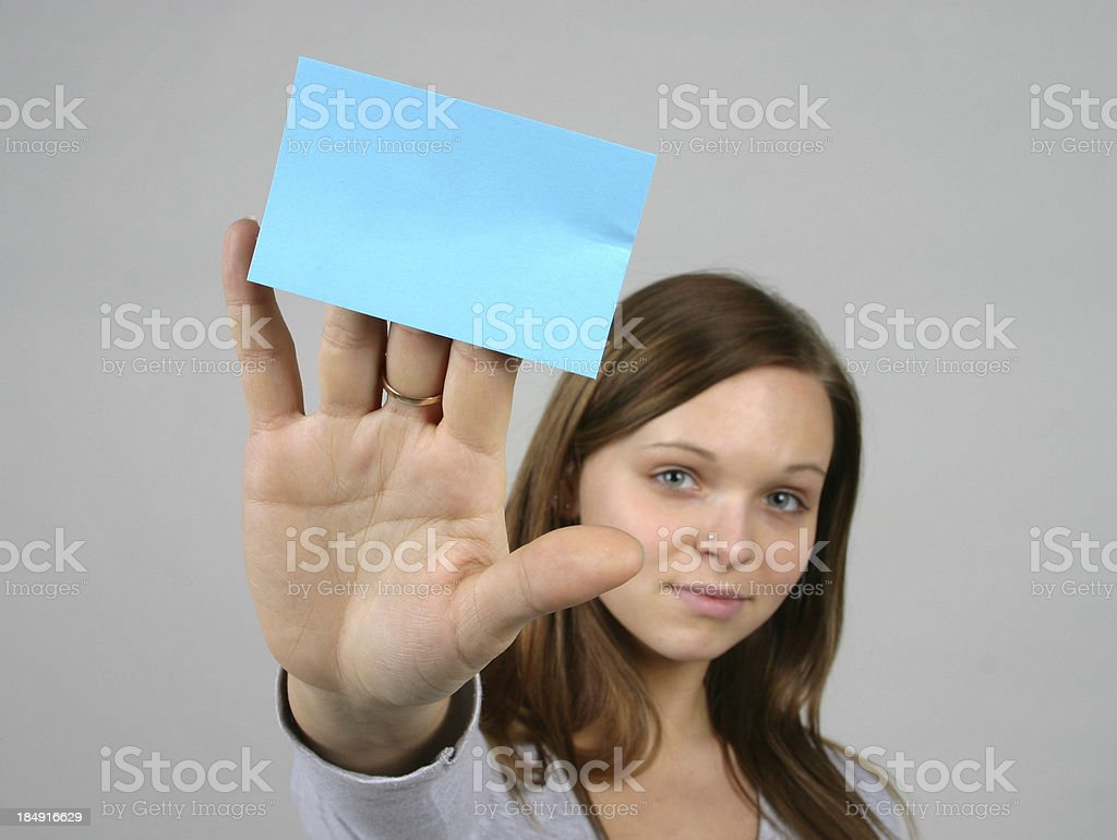 You take a notes royalty-free stock photo