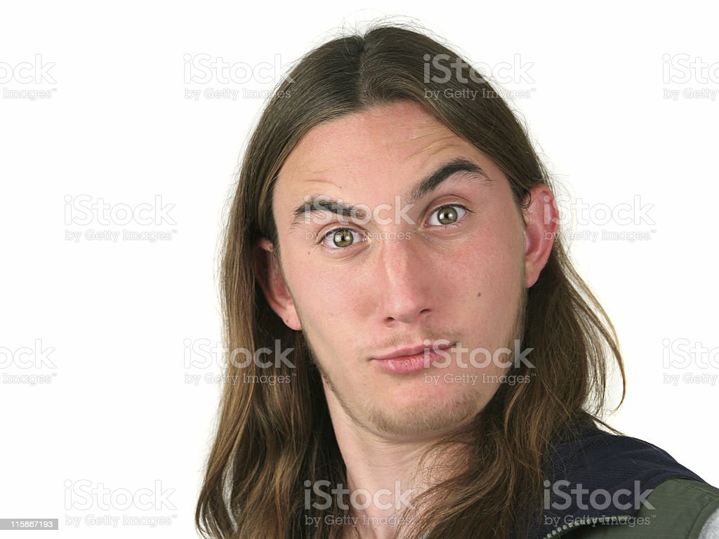 You Talkin to Me? stock photo