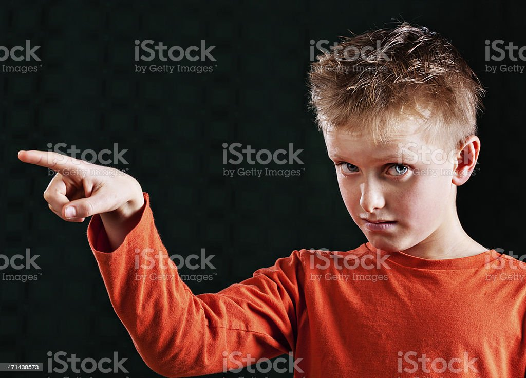 You want me to go where? stock photo
