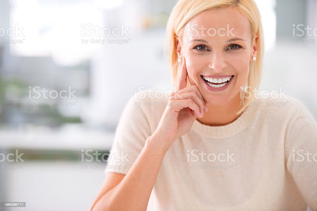 You want to know the recipe for success? stock photo