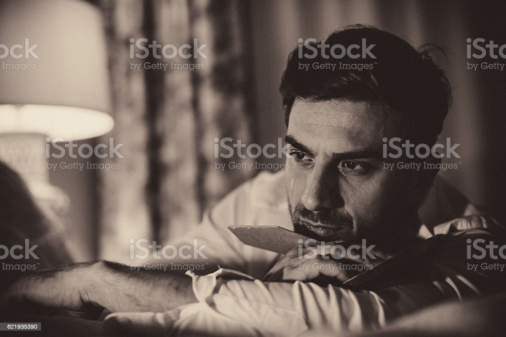 You will always be in my thoughts stock photo