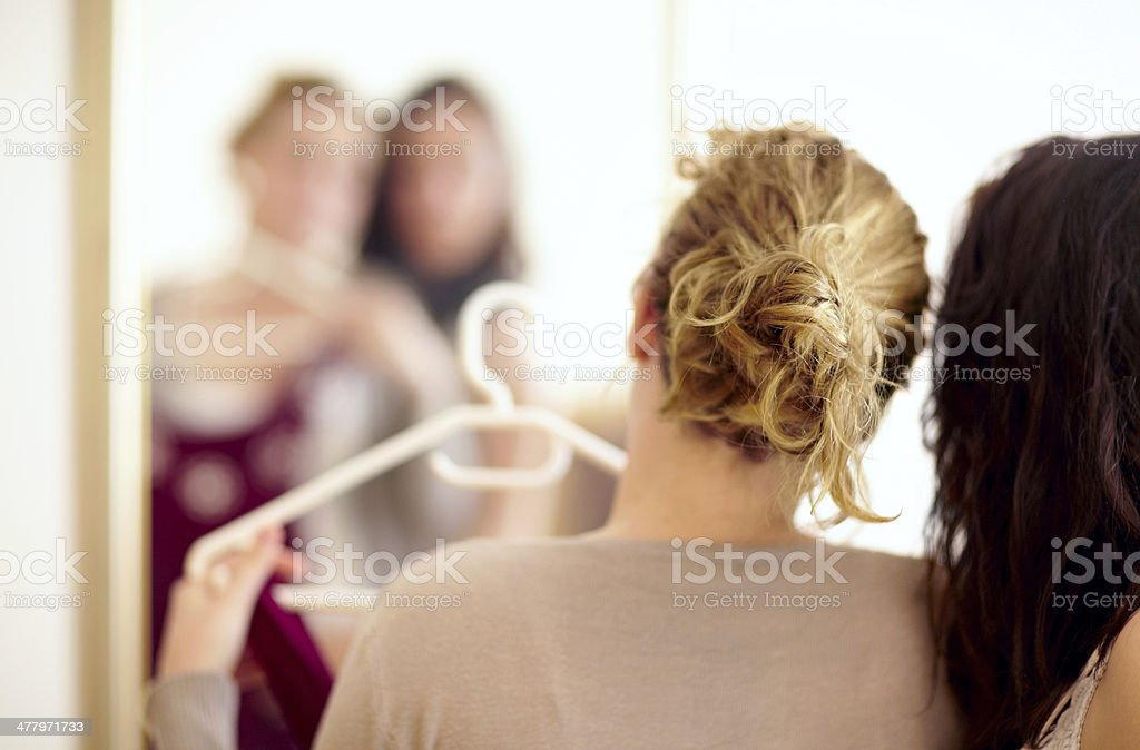 You will look great in this! stock photo