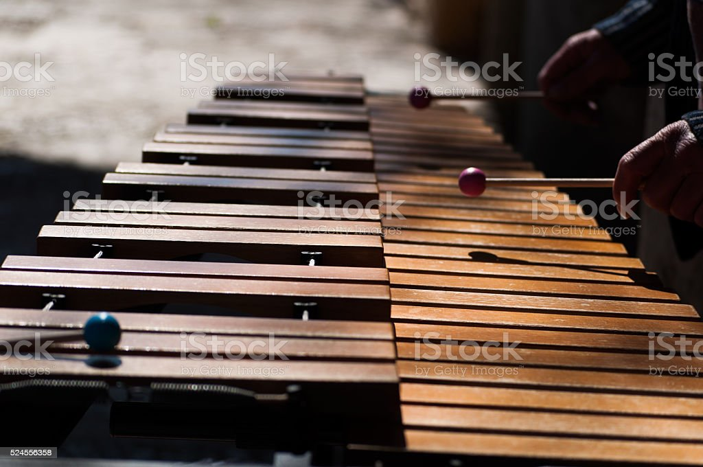 You xylophone close-up stock photo