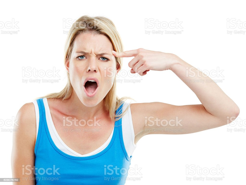 You'd be crazy for not taking all this copyspace stock photo