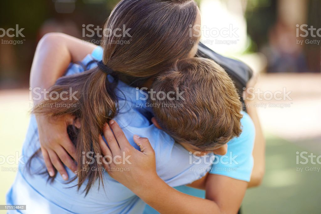 You''ll always want to protect him stock photo