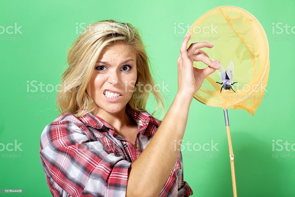 young adult attractive energetic female royalty-free stock photo