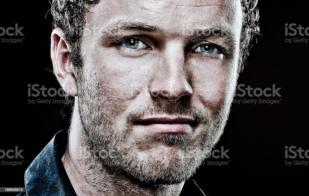 young adult man royalty-free stock photo