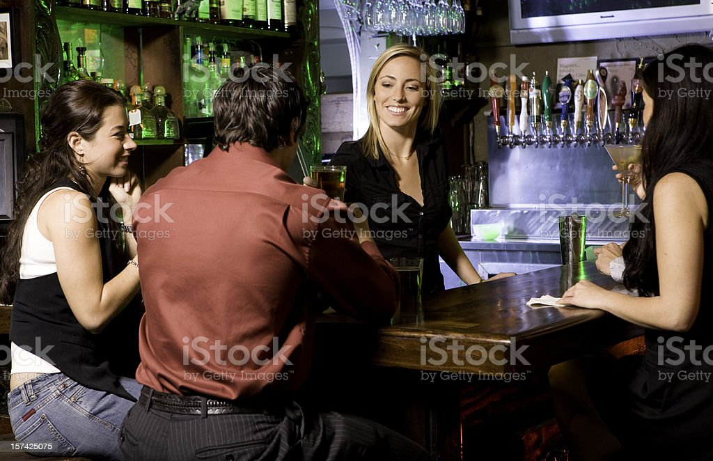 Young Adult Nightlife royalty-free stock photo