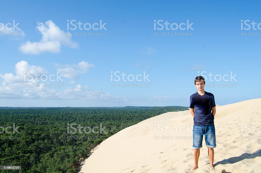 Young adult (male) stock photo