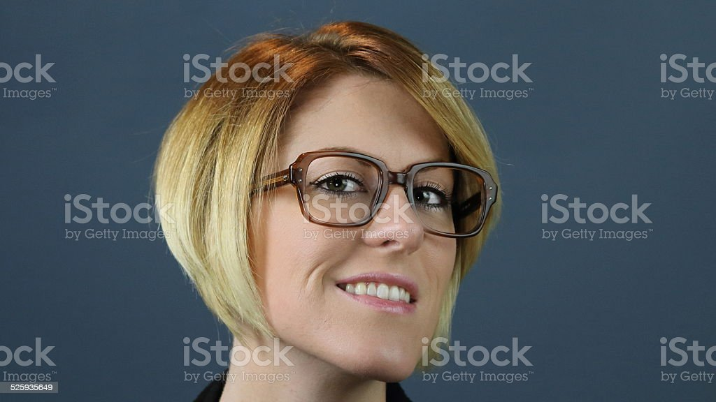 Young Adult With Glases stock photo