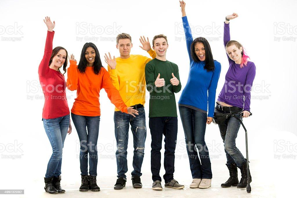Группа молодых геев фото 317-981
