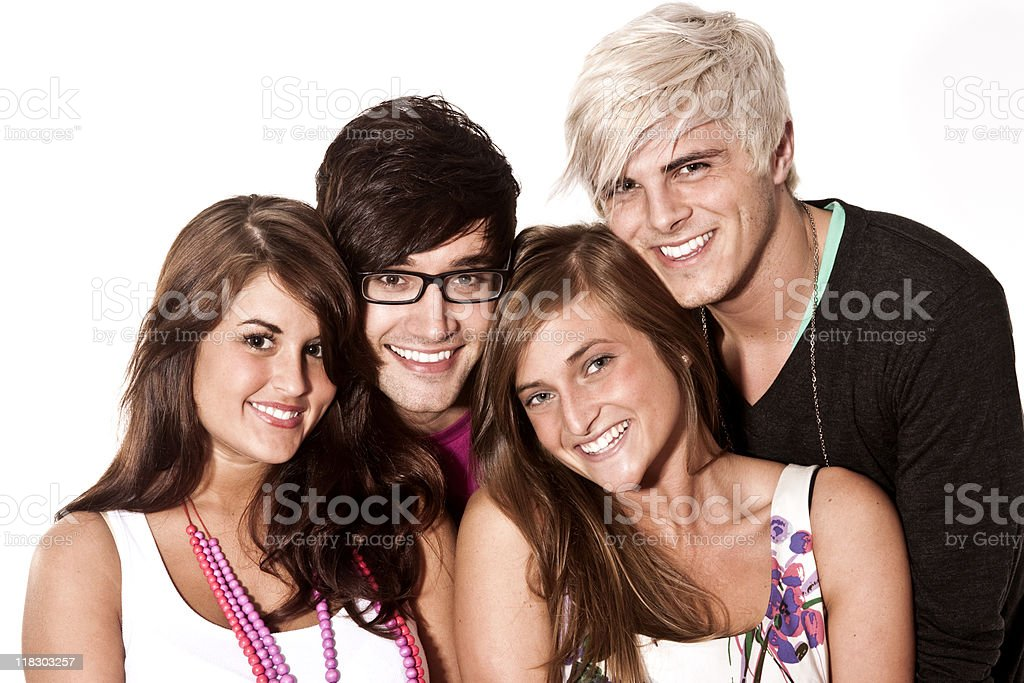 young adults royalty-free stock photo