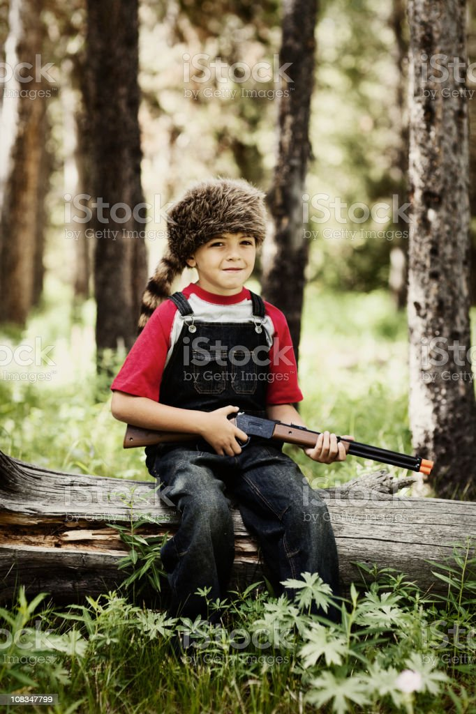 Young Adventurer royalty-free stock photo